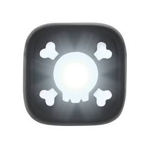 Blinder 1 Front - Skull - Chrome