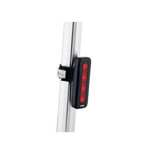 Eclairage 4 LEDs vertical Blinder 4V Pulse - Noir