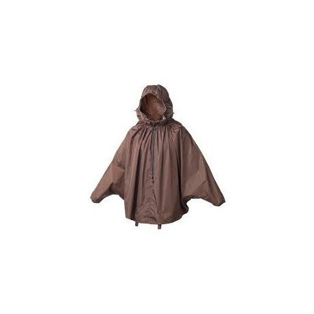 Brooks Cambridge Rain Cape - Brown - M (140 - 165cm)