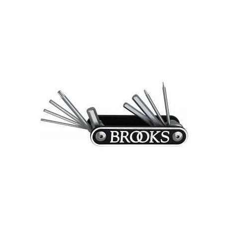 Brooks Outil Multitool MT10 noir