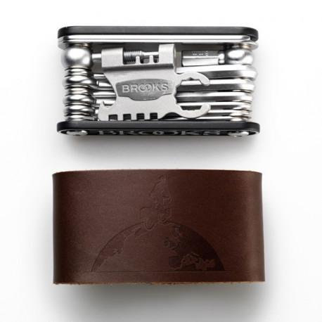 Brooks Tool Kit Brooks MT21 - Brown Leather Sleeve