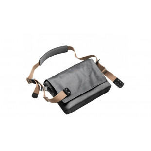 Barbican Shoulder Bag - Asphalt - Medium
