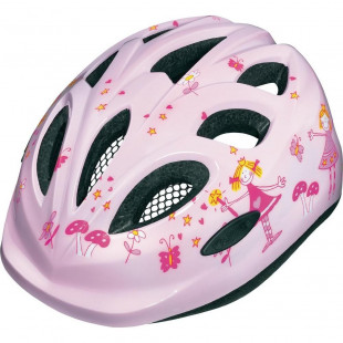 Casque Abus enfant Smiley Princess rose