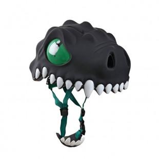 Casque tête dragon noir