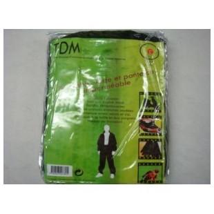 Ensemble de protection pluie veste+pantalon noir