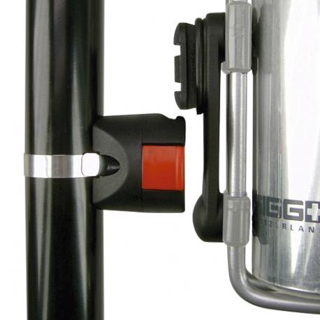 Fixation pour panier guidon diamètre Ø 31,8mm Klickfix