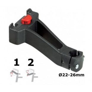 Klickfix Fixation pour panier guidon diamètre Ø 31,8mm K0211VO