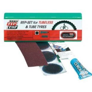 necessaire velo tubeless kit de reparation pneu v lo. Black Bedroom Furniture Sets. Home Design Ideas