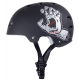 BULLET HELMET (CASQUE) SCREAMING HAND BLACK