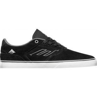 Chaussure EMERICA THE REYNOLDS LOW VULC BLACK WHITE SILVER