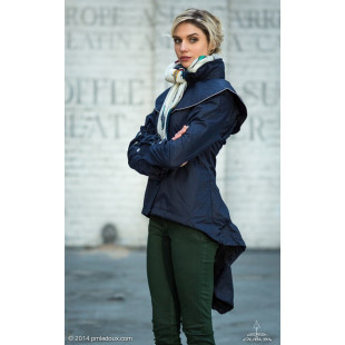 Georgia in Dublin manteau impermeable Dublette expendable Jacket