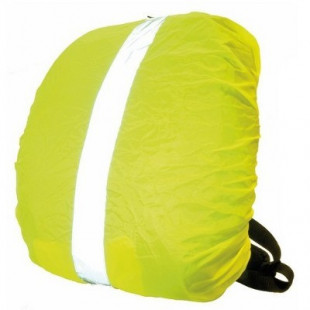 COUVRE SAC A DOS JAUNE FLUO