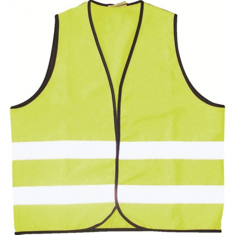 GILET SECURITE ADULTE JAUNE GPA