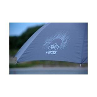 Popins parapluie NOIR très résistant pour cycliste