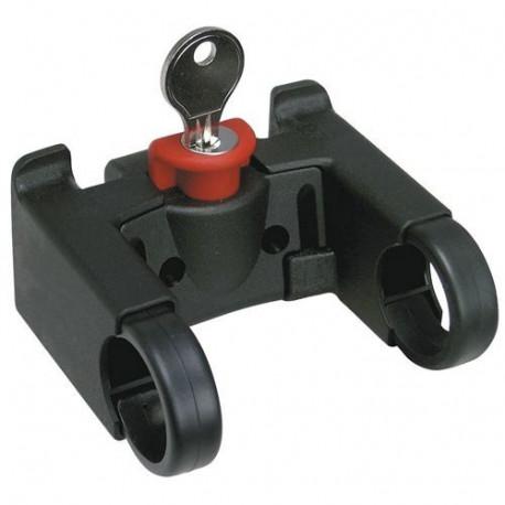 Fixation pour panier KLICKFIX sur cintre (guidon) de diamètre Ø 22-26mm