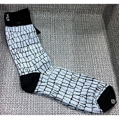 HUF Ilori Jacquard Pattern Crew chaussettes