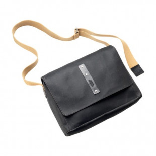 Euston Canvas Shoulder Bag - Medium - Asphalt - New14