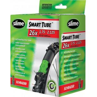 SLIME Chambre à air Smart Tube valve Presta 48mm auto-réparante/anti-crevaison 26 x 1.75-2.125