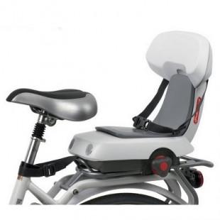 Siège Porte-enfant Polisport Guppy Junior Gris clair pour vélo