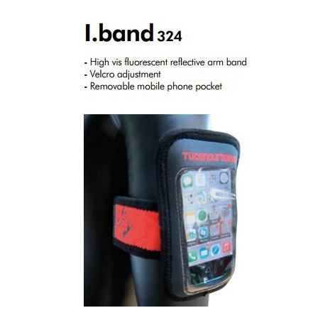 M-Wave sacoche smartphone sur cintre (modèle M) Splash Box