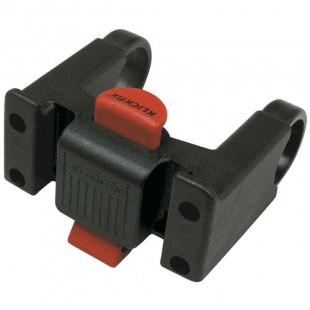 KLICKFIX Fixation pour panier sur cintre (guidon) de diamètre Ø 22-26mm et 2 colliers 31,8mm K0211U