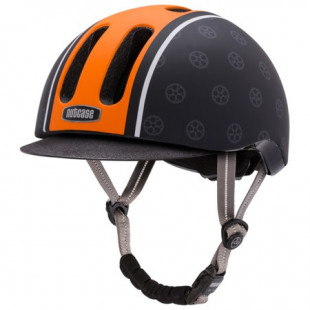 Nutcase casque METRORIDE Orange