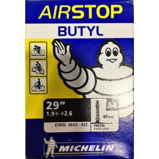 Chambre à air VTT 29x1.75/2.20 MICHELIN A4 valve Presta A4