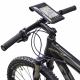 Klickfix housse téléphone phonebag Duratex sacoche smartphone etanche avec fixation pour sur cintre (modèle M)