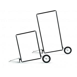 Extrawheel Remorque publicité mobile à vélo