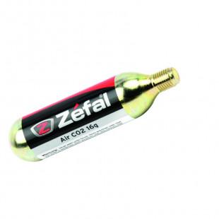 Zefal Cartouche co2 16Gr fileté pour gonflage rapide de pneu