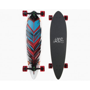 Landyachts longboards MAPLE CHIEF-FEATHER plume