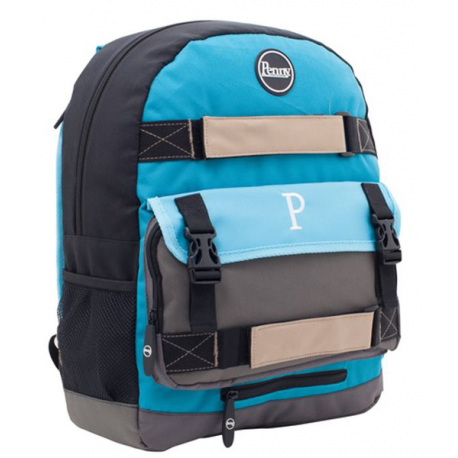 PENNY BAG CARLTON BLUE WHITE BLACK