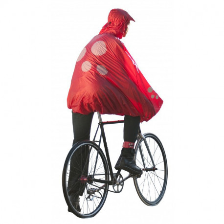 Poncho de pluie pour cycliste