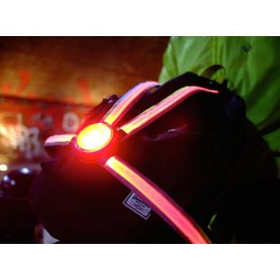 Oxford Commuter X4 Harnais Système d'éclairage arrière