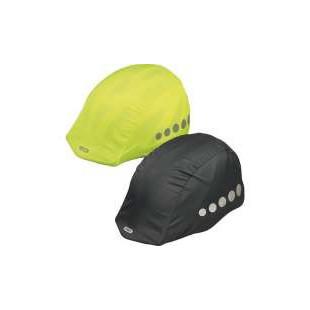 ABUS Housse universelle Jaune fluo ou noir pour casque vélo