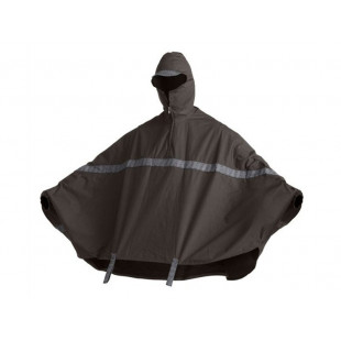 Oxford Rain Cape - Mud - L