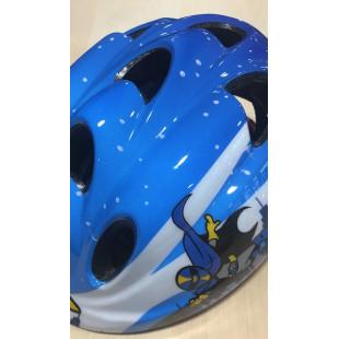 casque enfant OPTIMIZ super Hero Bleu S52/56