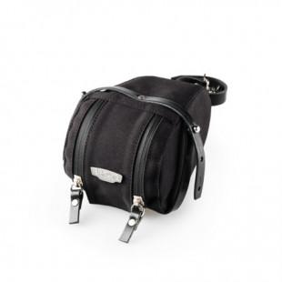 Brooks Isle Of Wight Saddle bag - small Black Black