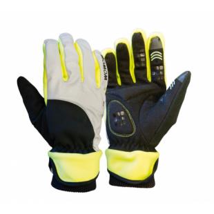 Wowow Gants Dark 4.0 reflechissants gris/noir/jaune