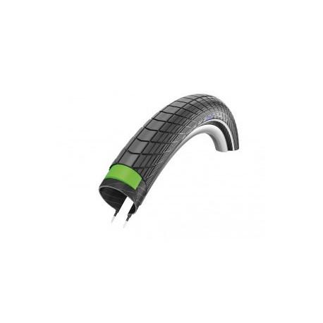 "Schwalbe pneu Big Apple Plus HS 430 20x2.15"" 55-406 noir Reflex GG Twin"