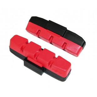 patins de frein Magura HS11/33 RIM breakpads rouge, vendu par 2 paires