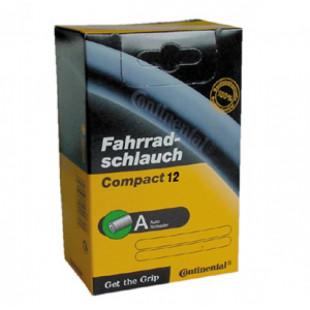 """Chambre à air Conti Compact 12 12 1/2x1.75/2 1/4"""" 44/62-194/222 AV"""