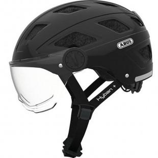 Casque Hyban Clear visor noir M (52-58cm)