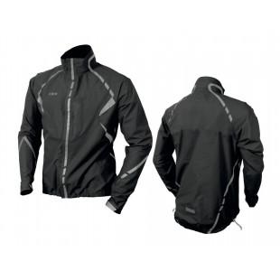Wowow veste anti-pluie Commuter noir & bandes réfléchissantes