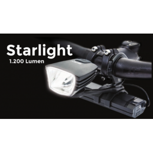 BRN BIKE LAMP STARLIGHT 1200 LUMEN FA100N