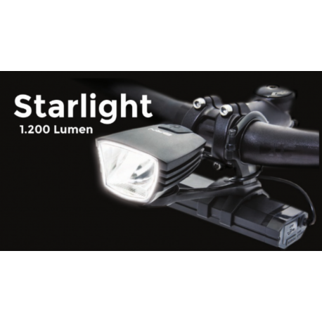 BRN BIKE LAMP STARLIGHT 1200 LUMEN FA100N