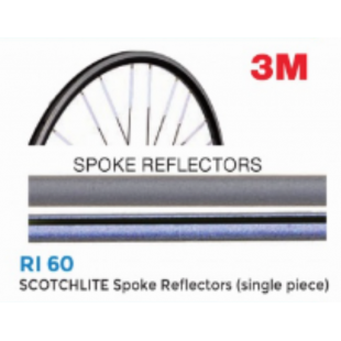 reflecteur rayon 3M SPOKE REFLECTORS (paquet de 18) BRN RI60