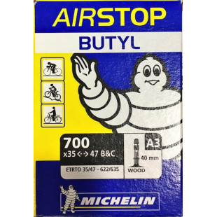 Chambre à air 700BX35/47 B&C MICHELIN A3 Valve Wood