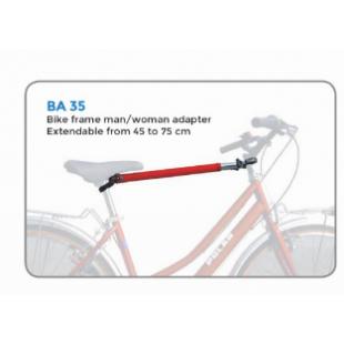 Peruzzo Bar de portage pour vélo de ville sur porte-vélo voiture