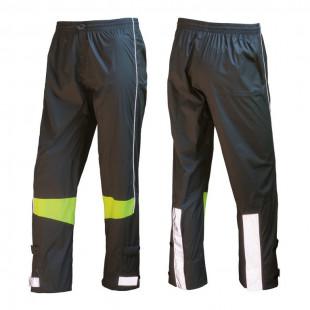 Wowow pantalon de pluie Urban gris bandes réfléchissantes